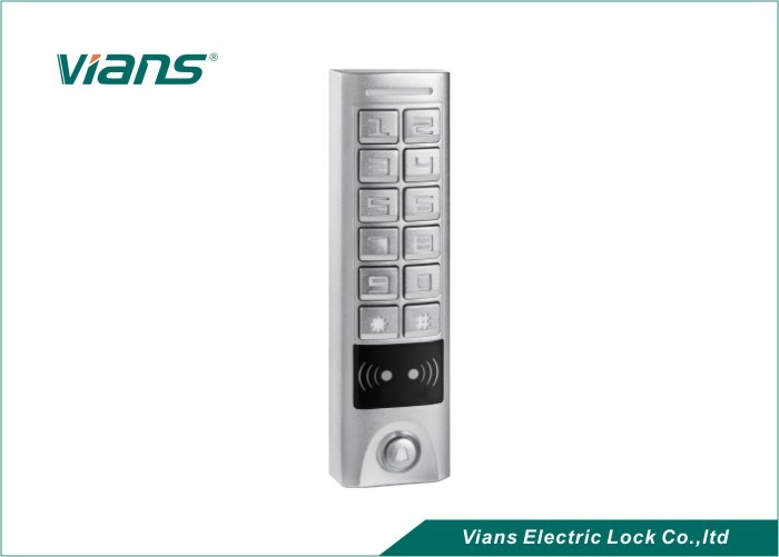 Rectangle Single Door Access Controller Standalone Keypad Access Control EM / HID Card