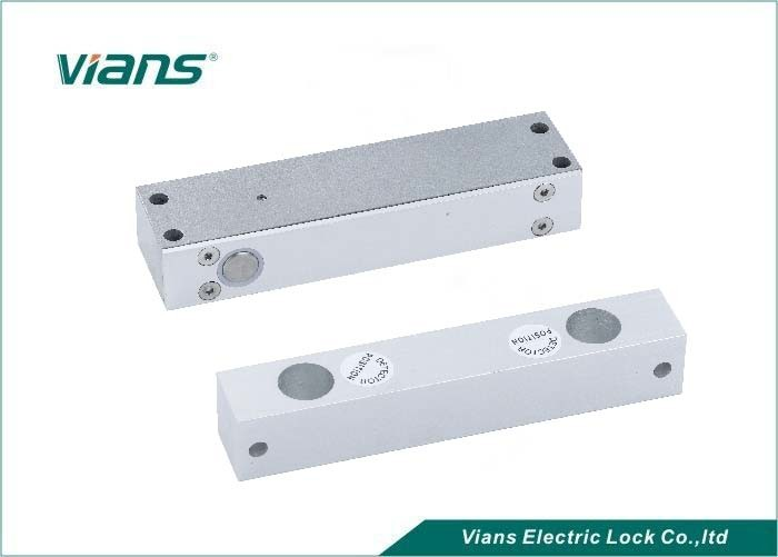 Electric Lockable Gate Drop Bolt / Drop Bolt Door Lock With Bracket , Surface Mounting Type