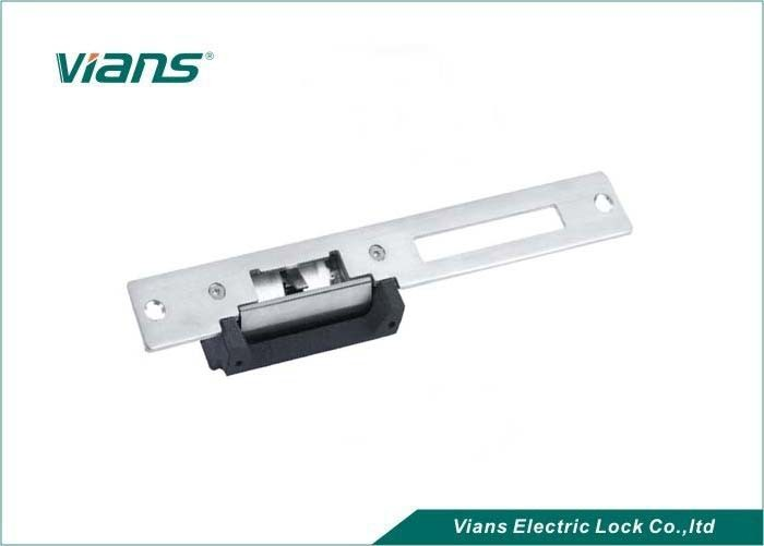 Long Type Custom Electric Security Door Strike With Metal Frame , CE FCC Approved