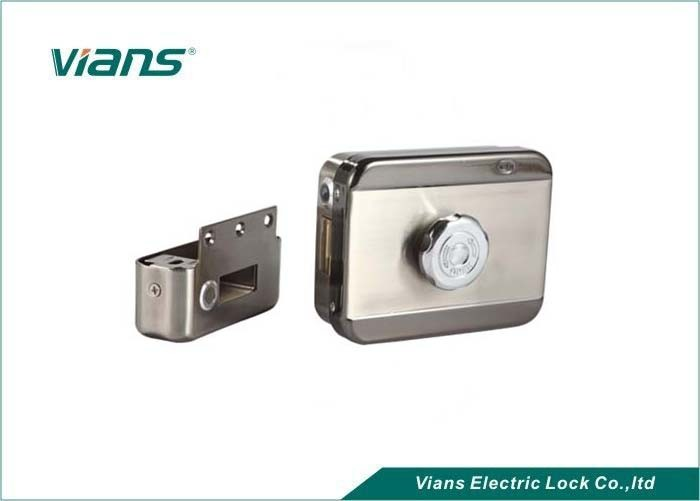 High Security Electronic Door Locks For Home , Entrance Door Locks No Mechanical Collision