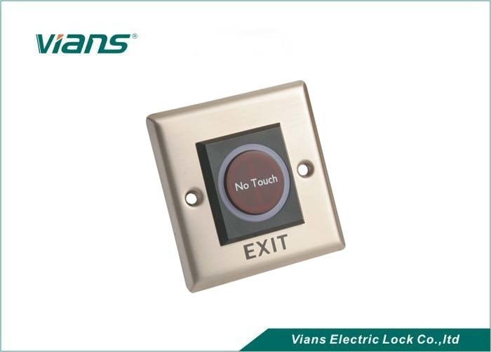 No Touch Push Button Infrared Door Exit Button for Access Control System